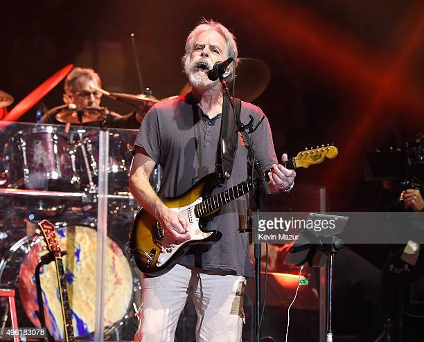 Bob Weir of Dead Company performs at American Express Presents AMEX UNSTAGED Featuring Dead Company Directed By Brett Ratner at Madison Square Garden...