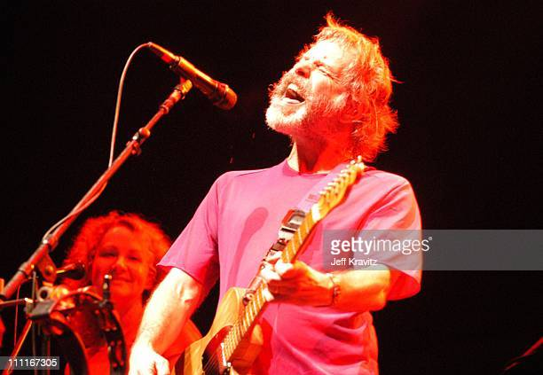 Bob Weir of The Dead during 2003 Bonnaroo Music Festival Night Three at Bonnaroo Fairgrounds in Manchester Tennessee United States