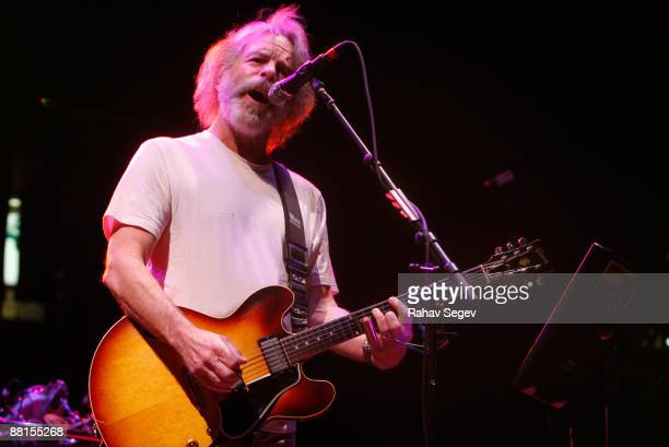 Bob Weir of The Dead performs at Izod Center on April 28 2009 in East Rutherford New Jersey