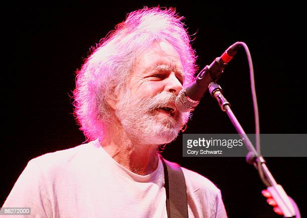 Bob Weir of The Dead performs at the Izod Center on April 28 2009 in East Rutherford New Jersey