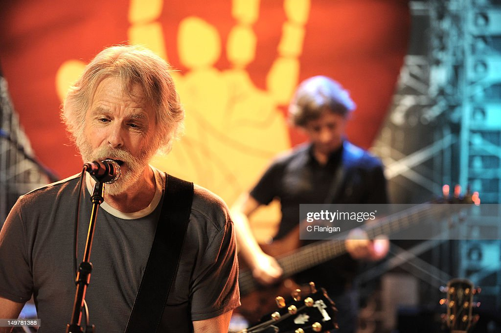 Bob Weir of The Grateful Dead and Mike Gordon of Phish