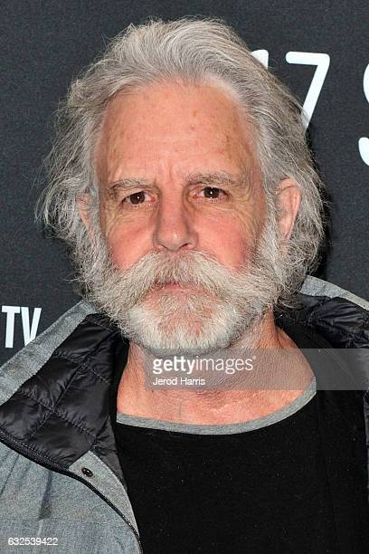 Bob Weir of the Grateful Dead arrives at the 'Long Strange Trip' Premiere at Yarrow Hotel Theater on January 23 2017 in Park City Utah