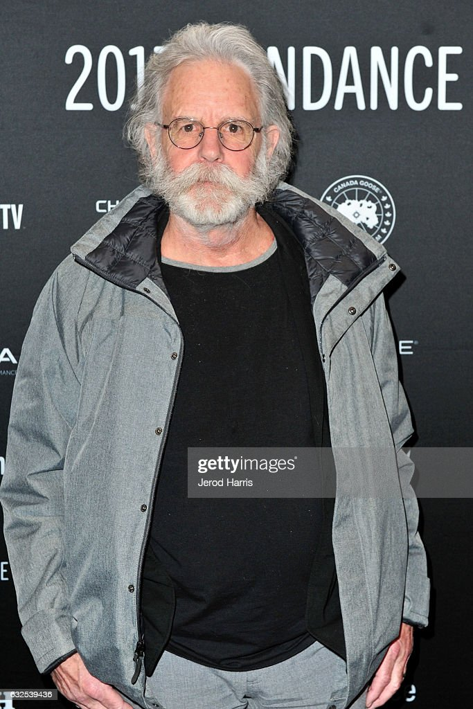 Bob Weir of the Grateful Dead arrives at the 'Long Strange Trip' Premiere at Yarrow Hotel Theater on January 23, 2017 in Park City, Utah.