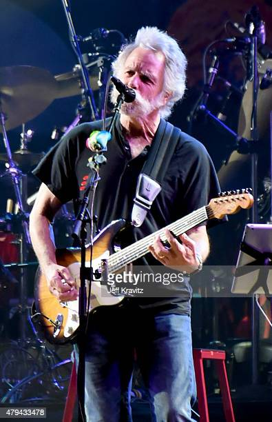 Bob Weir of The Grateful Dead perform during the Fare Thee Well A Tribute To The Grateful Dead on July 3 2015 in Chicago Illinois