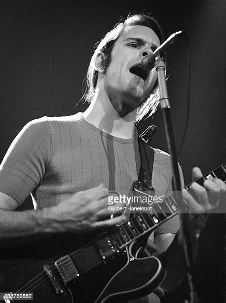 Bob Weir of The Grateful Dead performs on stage at the Tivoli Concert Hall in April 1972 in Copenhagen Denmark