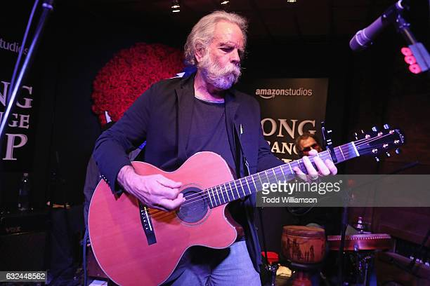 Bob Weir of The Grateful Dead performs onstage during the Amazon Studios celebration of Long Strange Trip at the 2017 Sundance Film Festival...