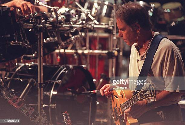 Bob Weir of The Other Ones at a rehearsal session just before the Further Festival Tour at the Grateful Dead headquarters in Novato CA