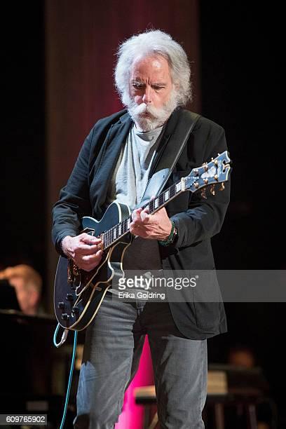 Bob Weir performs at Ryman Auditorium on September 21 2016 in Nashville Tennessee