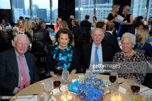 Bob Welch Hildegarde 'Hillie' Mahoney Ed Rover and Genny Welch attend The Boys' Club of New York Annual Awards Dinner at Mandarin Oriental on May 17...