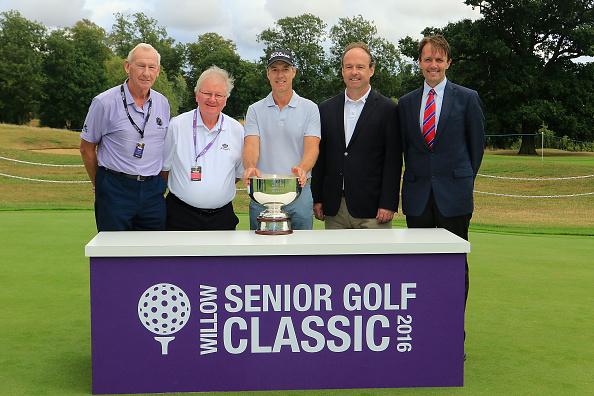 Willow Senior Golf Classic raises £120,000 for charity