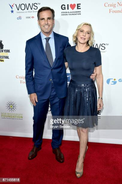 Bob Woodruff and Lee Woodruff attend the 11th Annual Stand Up for Heroes Event presented by The New York Comedy Festival and The Bob Woodruff...