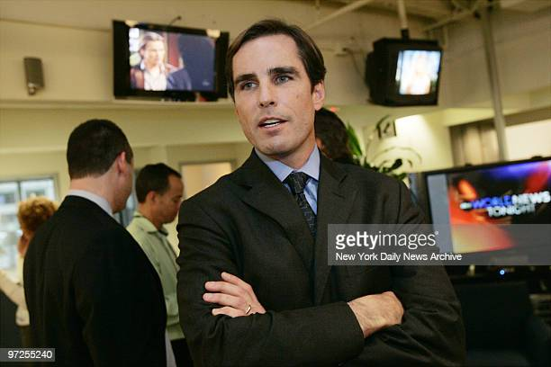 Bob Woodruff is at the offices of ABC News where a news conference was held to introduce him and Elizabeth Vargas as coanchors of a new expanded...
