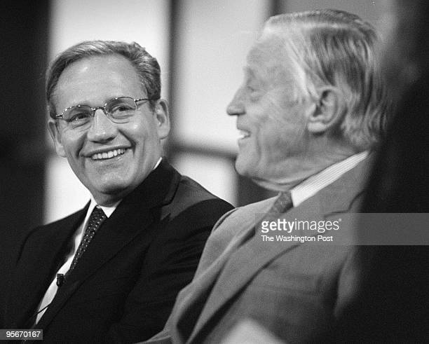 Bob Woodward and Ben Bradlee discuss Watergate 30 years laterthe second of the dayon George Washington University campus