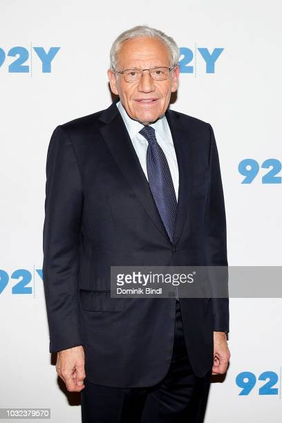 Bob Woodward and Jacob Weisberg visit Bob Woodward In Conversation With Jacob Weisberg at 92nd Street Y on September 12 2018 in New York City