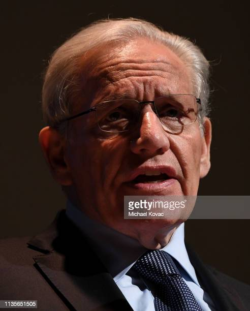 Bob Woodward attends 'A Morning With Bob Woodward' at American Jewish University on April 7, 2019 in Los Angeles, California.