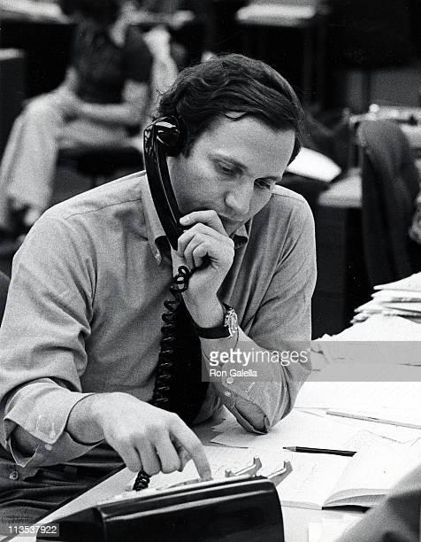 Bob Woodward during Bob Woodward at The Washington Post Building June 3 1974 at Washington Post Building in Washington DC United States