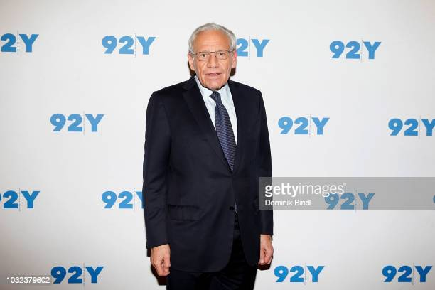 Bob Woodward visits Bob Woodward In Conversation With Jacob Weisberg at 92nd Street Y on September 12 2018 in New York City
