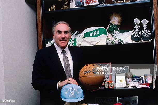 Bob Woolf Larry Bird's agent poses for a portrait in 1987 in Boston Massachusetts NOTE TO USER User expressly acknowledges and agrees that by...