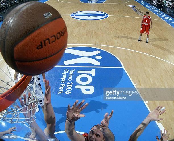 Boban Marjanovic, #20 of Hemofarm Stada in action during Eurocup Basketball Semi Final 1, Hemofarm Stada v Lietuvos Rytas at the Palasport on April...