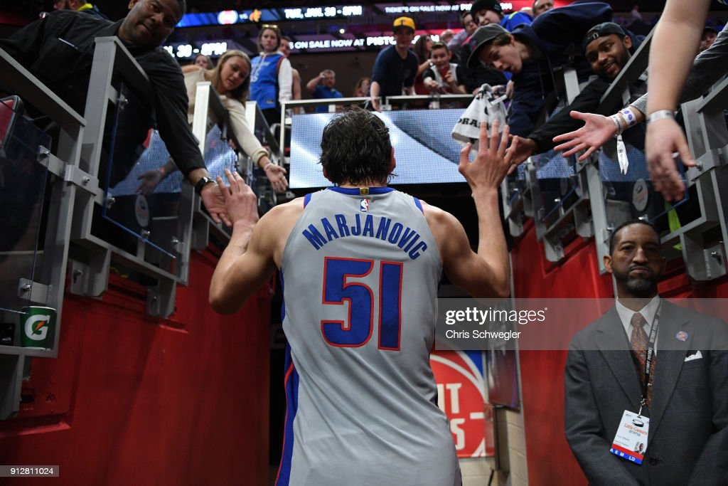 Oklahoma City Thunder v Detroit Pistons : News Photo