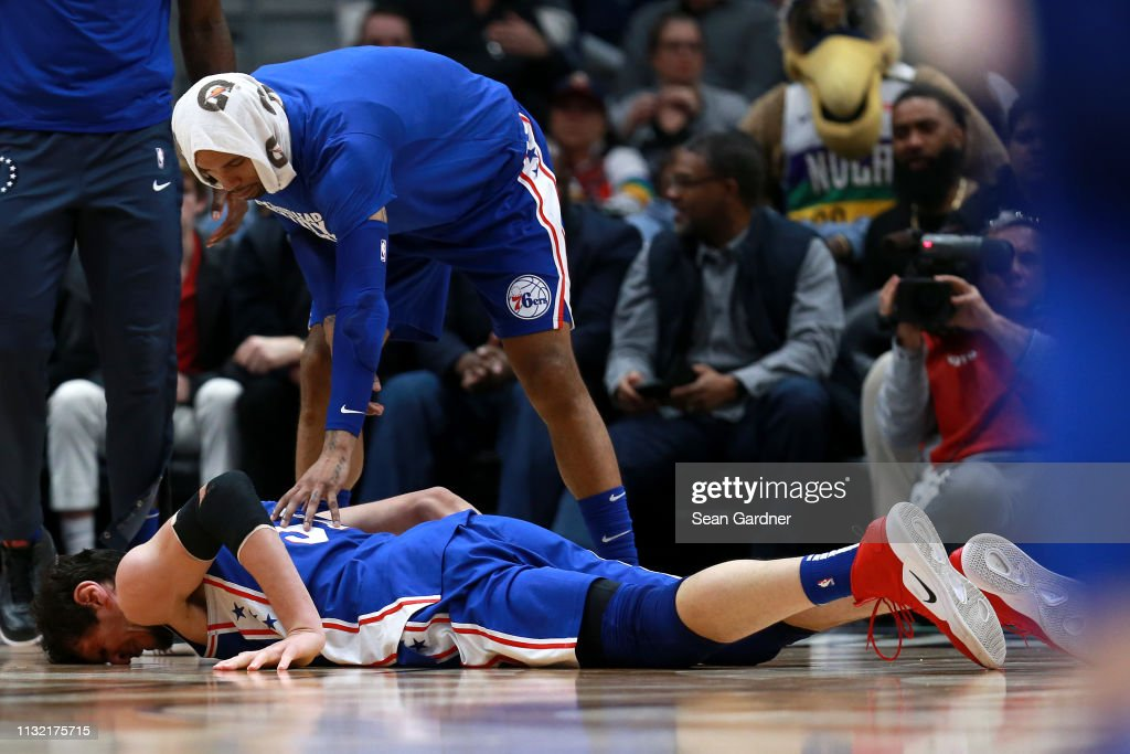Philadelphia 76ers v New Orleans Pelicans : News Photo