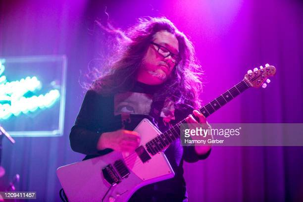 Bobb Bruno of the band Best Coast Performs At The Novo at The Novo by Microsoft on February 28, 2020 in Los Angeles, California.