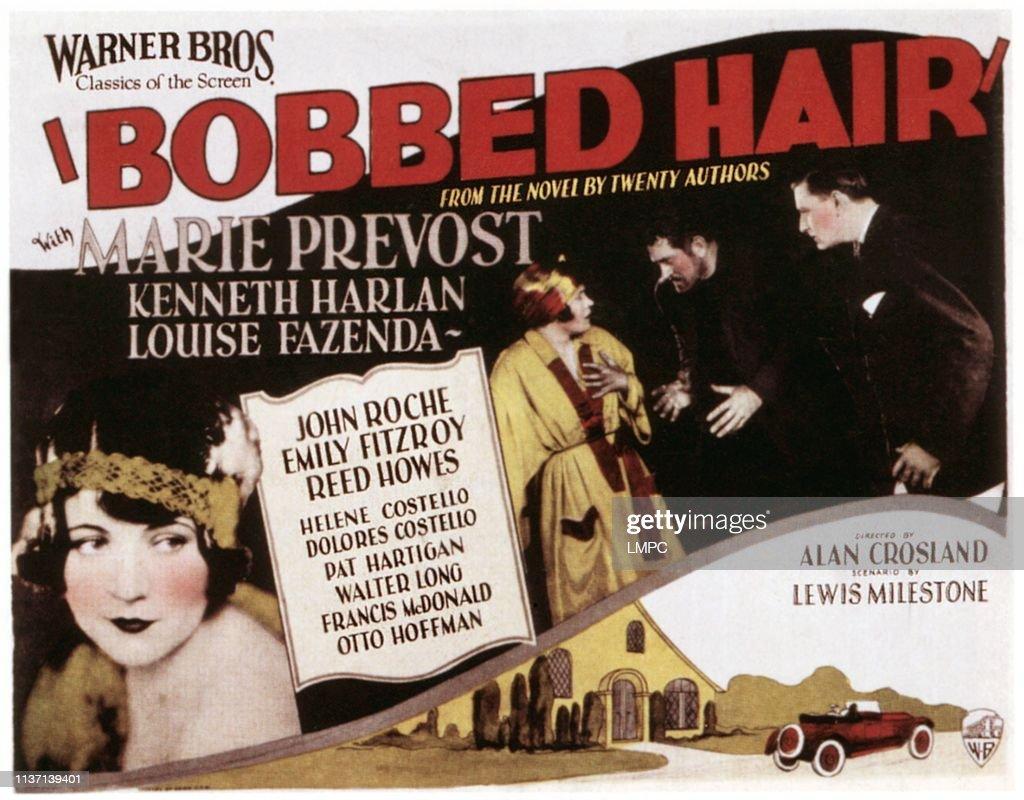 Bobbed Hair : News Photo
