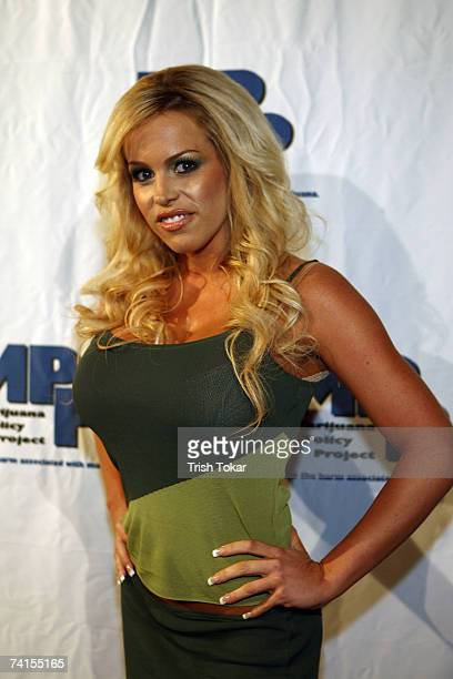 Bobbi Billard attends the Marijuana Policy Project Celebrity Fundraiser at the Playboy Mansion May 14 2007 in Los Angeles California