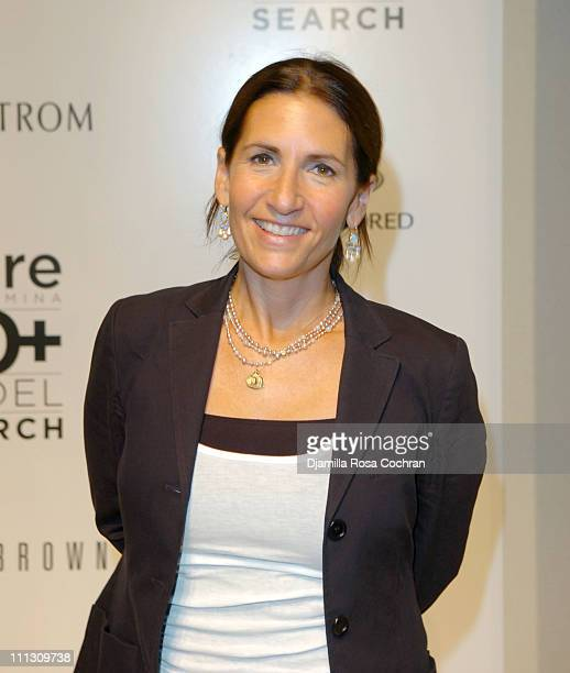Bobbi Brown during The Winners of the 6th Annual More Magazine Wilhelmina 40 Model Search at Cipriani in New York City New York United States