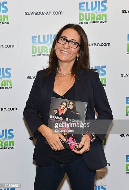 Bobbi Brown, founder and CEO of Bobbi Brown Cosmetics visits Elvis Duran Z100 Morning Show at Z100 Studio on September 19, 2012 in New York City.