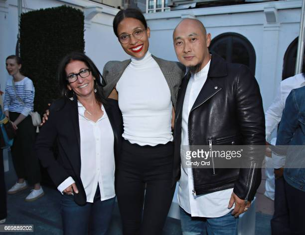 Bobbi Brown, TyLynn Nguyen and Bee Nguyen attend as Lord & Taylor and Bobbi Brown celebrate the launch of the justBOBBI concept shop on April 17,...
