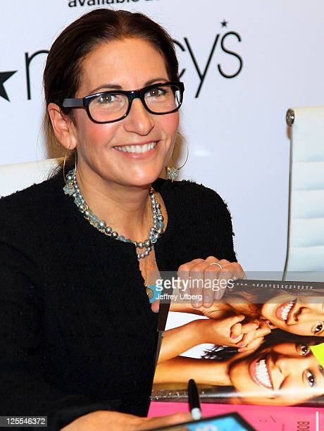 Bobbi Brown visits Macy's Herald Square on November 9 2010 in New York City