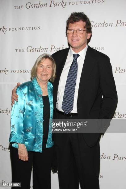 Bobbi Burrows and Russell Burrows attend Celebrating Fashion Gala Awards Dinner to Support The GORDON PARKS Foundation at Gotham Hall on June 2 2009...