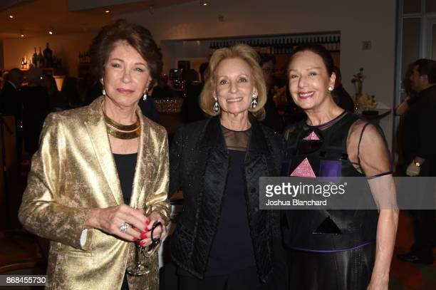 Bobbi Holland Rochelle Hirsch and Anita Lorber attend the Israel Philharmonic Orchestra Los Angeles Gala Honoring Zubin Mehta at Walt Disney Concert...