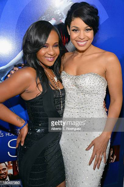 Bobbi Kristina Brown and actress/singer Jordin Sparks arrive at the Los Angeles Premiere of 'Sparkle' at Grauman's Chinese Theatre on August 16 2012...