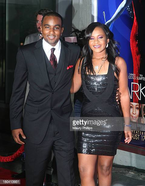 Bobbi Kristina Brown and Nick Gordon arrive at the Los Angeles Premiere of Sparkle at Grauman's Chinese Theatre on August 16 2012 in Hollywood...
