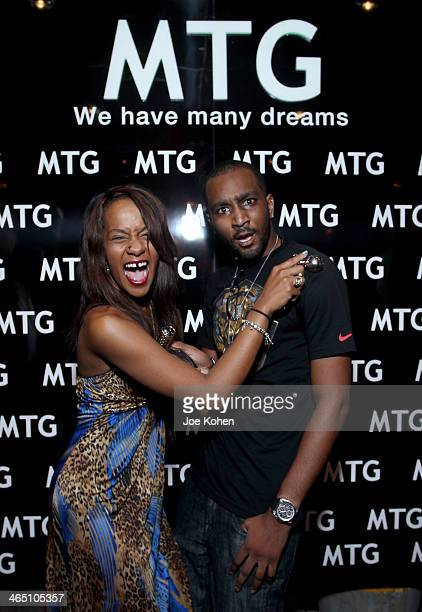 Bobbi Kristina Brown and Nick Gordon attend the GRAMMY Gift Lounge during the 56th Grammy Awards at Staples Center on January 25 2014 in Los Angeles...