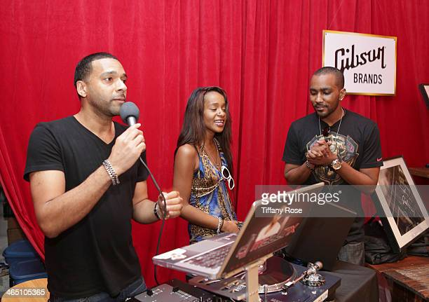 Bobbi Kristina Brown and Nick Gordon attend the GRAMMY Gift Lounge during the 56th Grammy Awards at Staples Center on January 25, 2014 in Los...