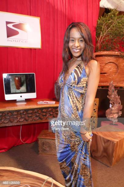 Bobbi Kristina Brown attends the GRAMMY Gift Lounge during the 56th Grammy Awards at Staples Center on January 25, 2014 in Los Angeles, California.