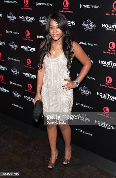 Bobbi Kristina Brown attends 'The Houstons On Our Own' Series Premiere Party at Tribeca Grand Hotel on October 22 2012 in New York City
