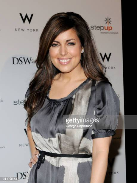 Bobbi Thomas attends the DSW shop designer shoes for a cause at the W Hotel on September 26, 2009 in New York City.