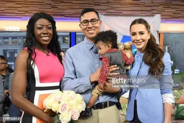Bobbie CaseAkins and Alonzo Vallecillo win a complete wedding giveaway planned by Jessica Mulroney on Good Morning America Friday March 22 airing on...