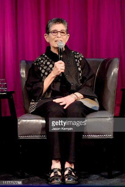 Bobbie Malone speaks onstage during a panel of the legacy of Boudleaux and Felice Bryant at Country Music Hall of Fame and Museum on September 28...