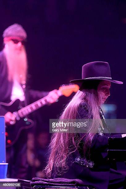 Bobbie Nelson and Billy Gibbons perform in concert on New Years Eve at ACL Live on December 31 2014 in Austin Texas