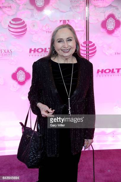 Bobbie Nelson attends the 2017 Texas Medal of Arts Awards at The Bass Concert Hall on February 22 2017 in Austin Texas