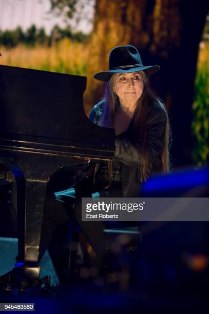 Bobbie Nelson performs during the Farm Aid finale at the KeyBank Pavilion in Burgettstown Pennsylvania United States on September 16 2017
