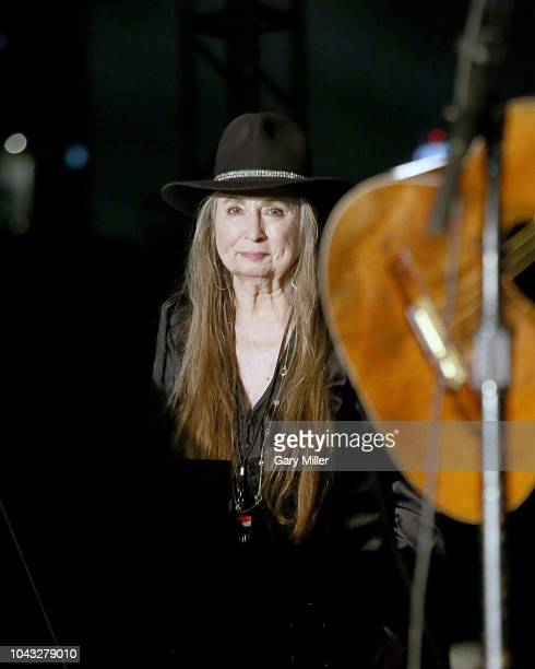 Bobbie Nelson performs in concert in support of Beto O'Rourke's campaign for US Senate at Auditorium Shores on September 29 2018 in Austin Texas