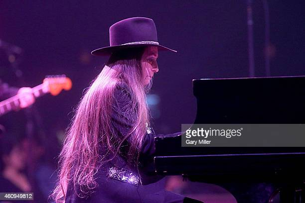 Bobbie Nelson performs in concert with her brother Willie Nelson on New Years Eve at ACL Live on December 31 2014 in Austin Texas