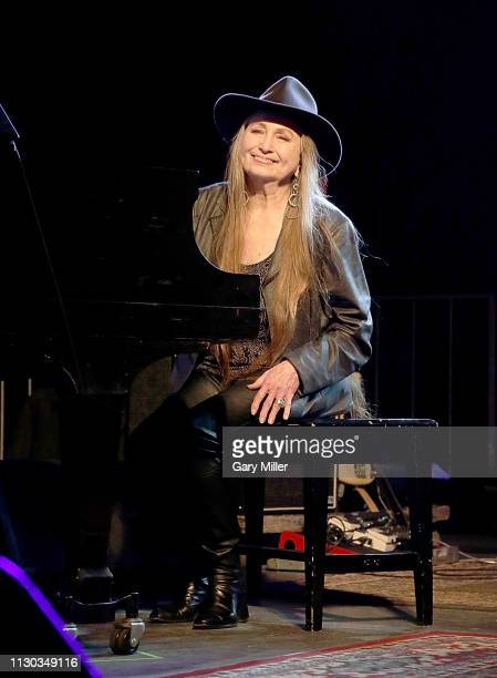 Bobbie Nelson performs in concert with Willie Nelson during The Luck Banquet on March 13 2019 in Luck Texas