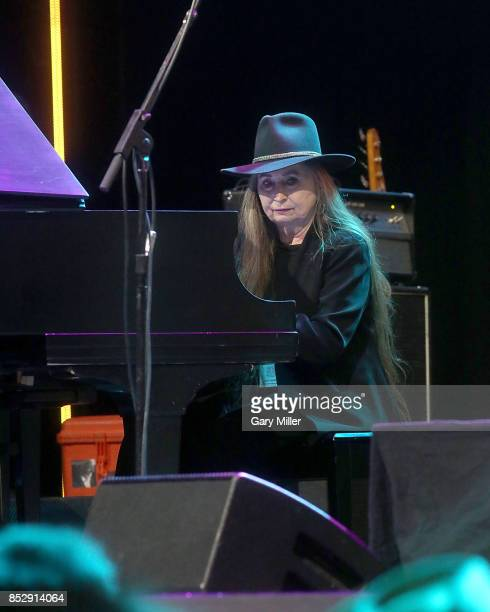 Bobbie Nelson performs in concert with Willie Nelson during the Texas Strong Hurricane Harvey Can't Mess With Texas benefit at The Frank Erwin Center...